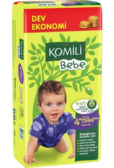 Komili Bebe Bebek Bezi 4+ Beden Dev Ekonomi Paketi 52 Adet