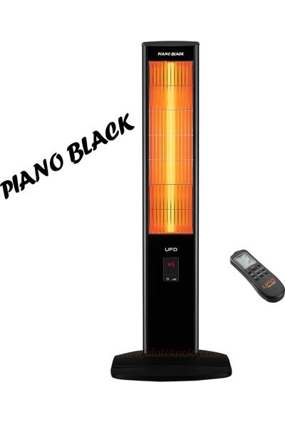 Ufo Micatronic Tower Uk23 Isıtıcı   Piano Black