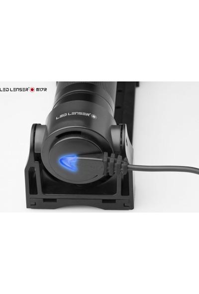 Led Lenser M17R Şarzlı El Feneri
