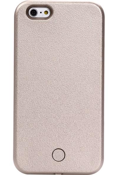 Komo Design iPhone 6 PLUS Gold Işıklı Selfie Kılıfı