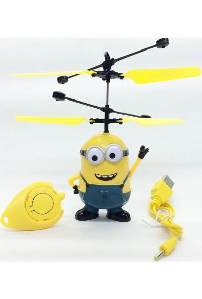 Minion Çılgın Hırsız Gerçekçi Uçan Helikopter