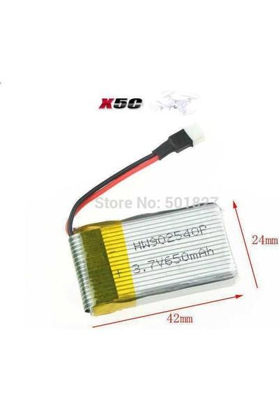 Syma X5C-X5Sc-Jjrc H9D 3.7V 650 Mah Pil Batarya