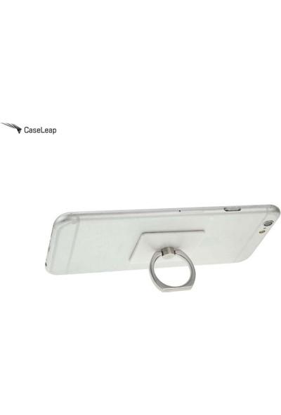 Case Leap Telefon Halkası (Ring) Tutucu Stand / Gümüş