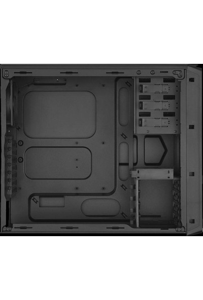 Corsaır Graphite 230T + Vs650W 80+ Psu Compact Siyah Midtower Kasa Cc-9011036-650Vs