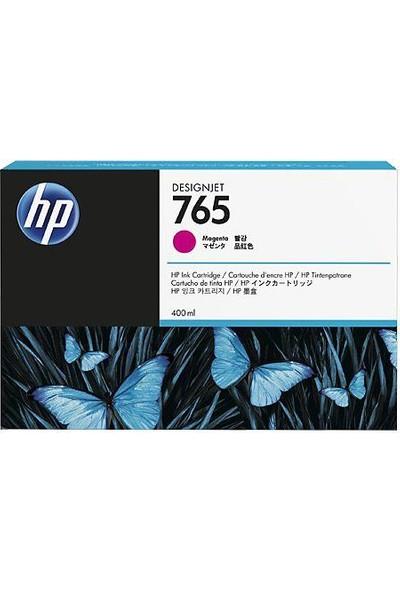 Hp 765 400-Ml Magenta Designjet Ink Cartridge F9J51A