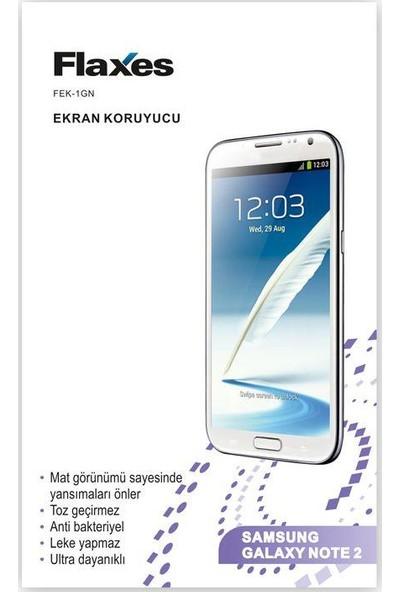 Flaxes Fek-1Gn Galaxy Note 2 Uyumlu Mat Ekran Koruyucu Fek-1Gn
