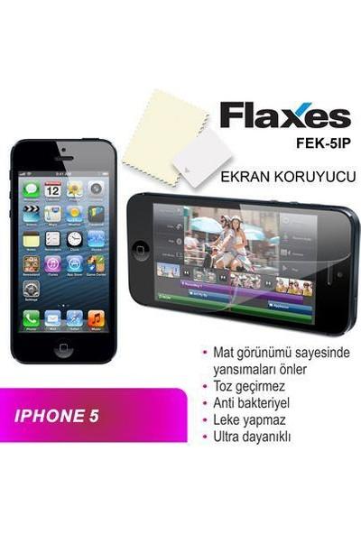 Flaxes Fek-5Ip Iphone 5 Uyumlu Mat Ekran Koruyucu Fek-5Ip