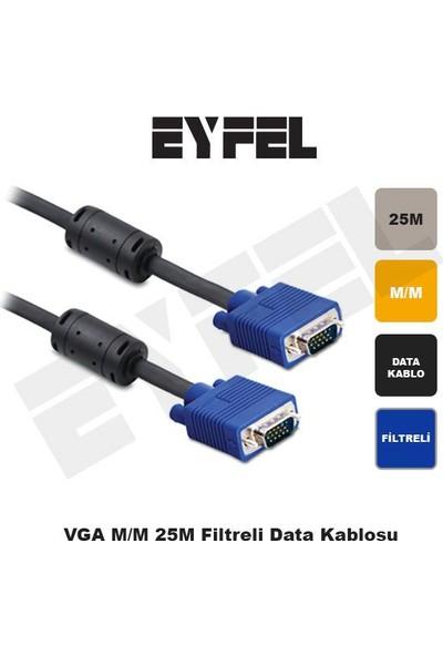 Eyfel Vga M/M 25M Filtreli Data Kablosu Vga125