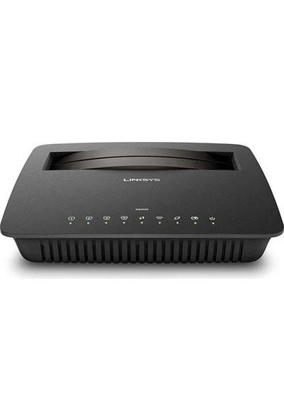 Lınksys X6200 Ac750 Vdsl 4 Port 2.4 Ghz Ve 5 Ghz Wi-Fi Modem Router X6200