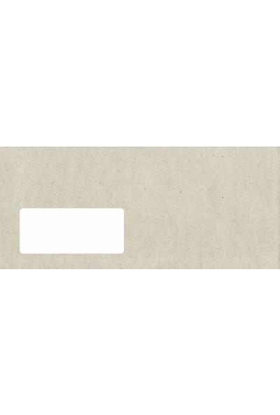 SmartEnvelope Diplomat Kraft Zarf 90 Gr Pencereli - 100 Adet