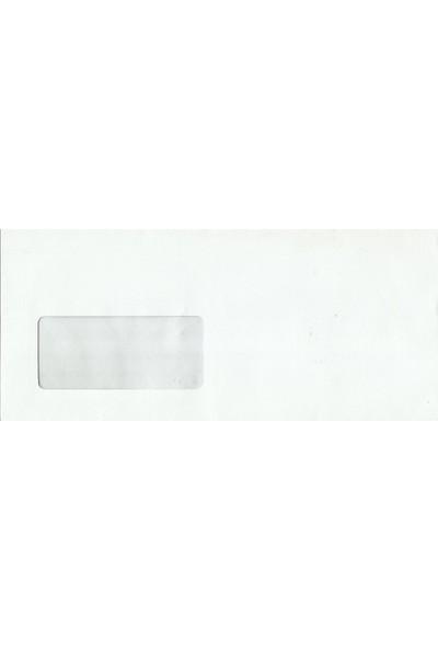 SmartEnvelope Diplomat Zarf 110 Gr Pencereli - 100 Adet