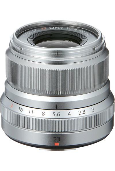 Fujifilm Fujinon XF 23mm F2 R WR Lens Gümüş