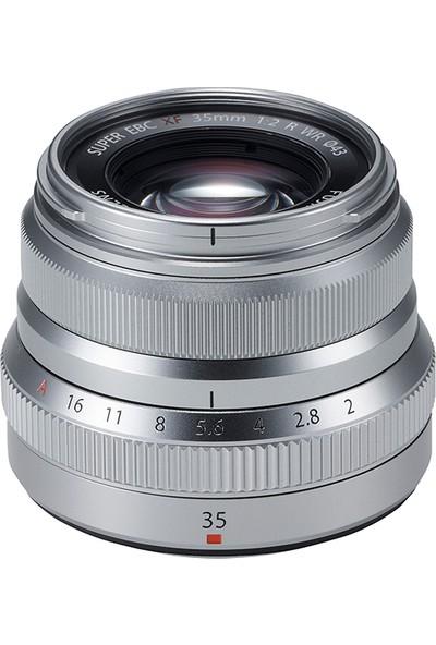 Fujifilm Fujinon XF 35mm F2 R WR Lens Gümüş