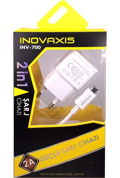 Inovaxıs Lg G5 Güçlü Şarj Aleti (2A Güçlu Adaptör +1 M Type-c Usb Data Kablosu)