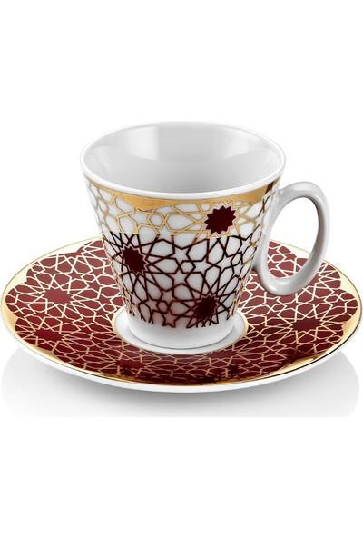 Güral Porselen Hürrem 12 Parça 6 Kişilik Kahve Takımı