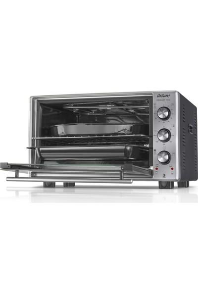 Arzum AR2002 Cookart Maxi 50 Lt Çift Camlı Fırın