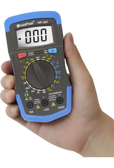 Holdpak 36T Ölçü Aleti Multimetre