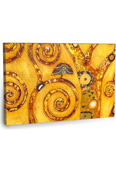 Fotografyabaskı Soyut Ağaç Tablosu 75 Cm X 50 Cm Kanvas Tablo Baskı