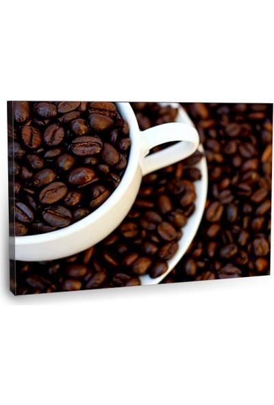 Fotografyabaskı Kahve Çekirdekleri Tablosu 2 75 Cm X 50 Cm Kanvas Tablo Baskı