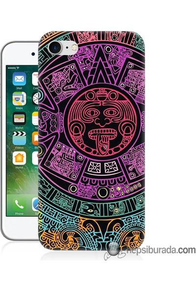Teknomeg iPhone 7 Kılıf Kapak Mayalar Baskılı Silikon