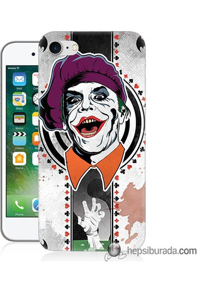 Teknomeg iPhone 7 Kapak Kılıf Joker 21 Baskılı Silikon