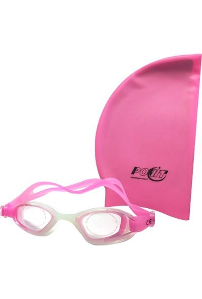 B-SPORT Povit GS3 Yüzücü Gözlüğü+Povit Silikon Bone