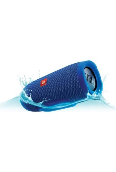 JBL Charge3 IPX7 Su Geçirmez Bluetooth Hoparlör Mavi