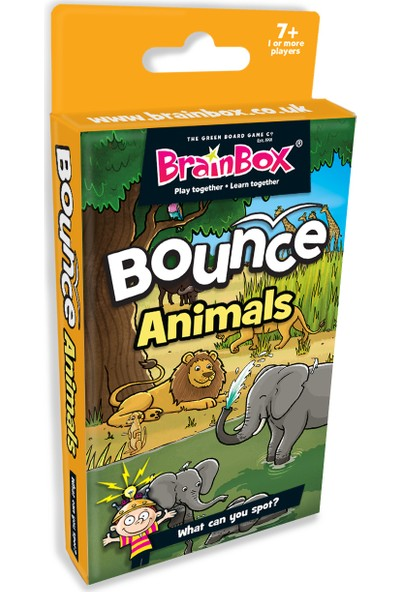 GreenBoard BrainBox Seksek Hayvanlar (Bounce Animals)