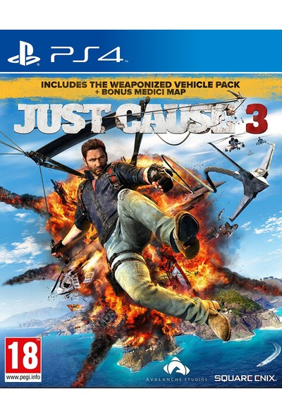 Just Cause 3 Medici Pack PS4