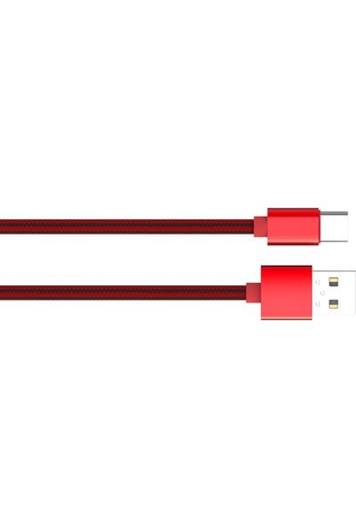 Ldnıo Usb Type-C Kevlar Örgülü Şarj Ve Data Kablosu