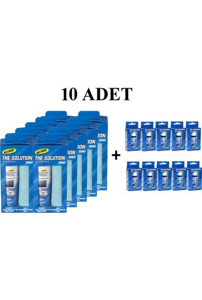 The Solutıon Lcd, Led,Ekran, Laptop, Tft, Cep Tlf, Koruyucu Ve Parlatıcı Doğal Temizleme, Temizlik Seti – 250 Ml + 30 Ml Lcd Temizleyici - 10 Set