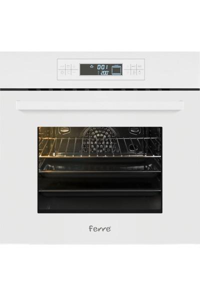Ferre 11001 Dijital Dokunmatik Beyaz Ankastre Fırın