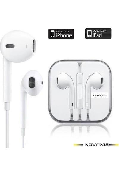 Inovaxis iPhone 4 - 5 - 6s - 6 Plus - iPad Üst Segment - Mikrofonlu Kulaklık (INOVAXIS Güvenlik Etiketi İle)