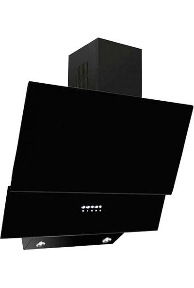 Ferre Italiano Black 3'lü Ankastre Set (BE 6 LD Mutifonksiyon Fırın + 1140 CE New Döküm Izgara Cam Ocak + D003 Yatay Dekoratif Cam Davlumbaz)