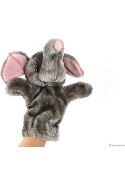 Bircan Oyuncak peluş El Kuklası Fil Kukla
