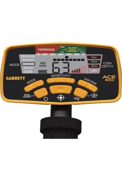 "Garrett Ace 400İ 8,5X11""DD"