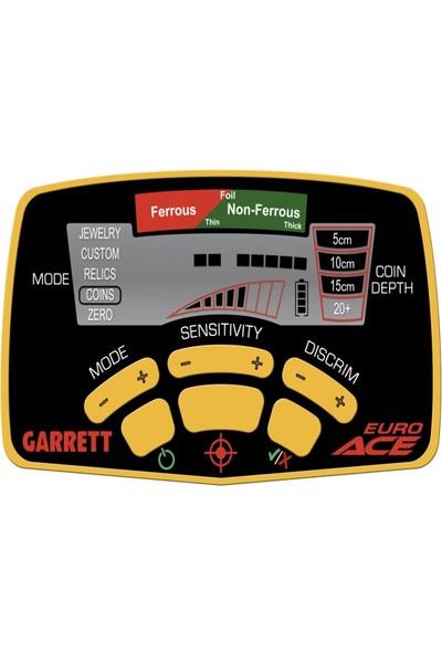"""Garrett Euro Ace 8,5X11"""" DD"""