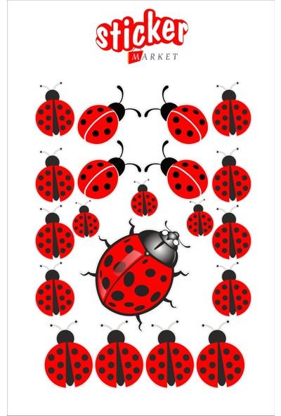 StickerMarket Uğur Böceği Sticker Seti