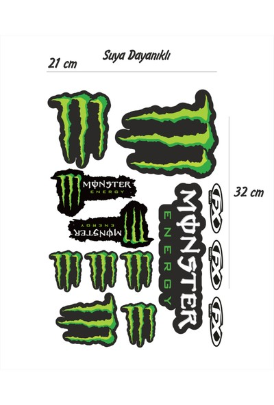 StickerMarket Monster Sticker Seti
