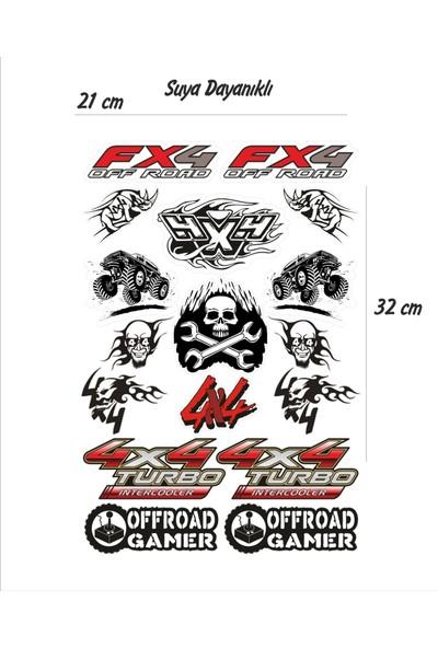 StickerMarket Offroad Sticker Seti
