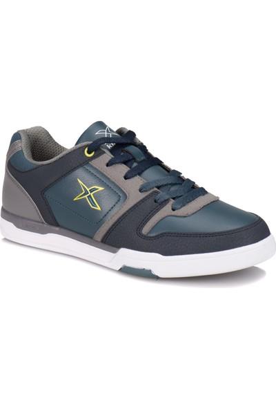 Kinetix A1314381 Petrol Lacivert Açık Yeşil Erkek Sneaker