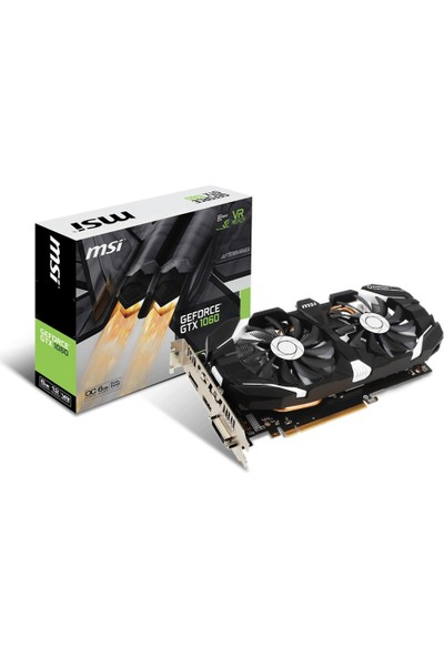MSI NVIDIA GeForce GTX 1060 6GT OCV1 6GB 192 bit GDDR5 DX(12) PCI-E 3.0 Ekran Kartı (GTX 1060 6GT OCV1)