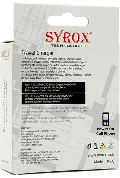Syrox Micro Usb Şarj Cihazı