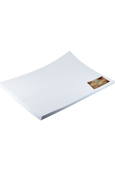 Koza - Ebru Kağıdı Beyaz 25x35 cm 100 Adet