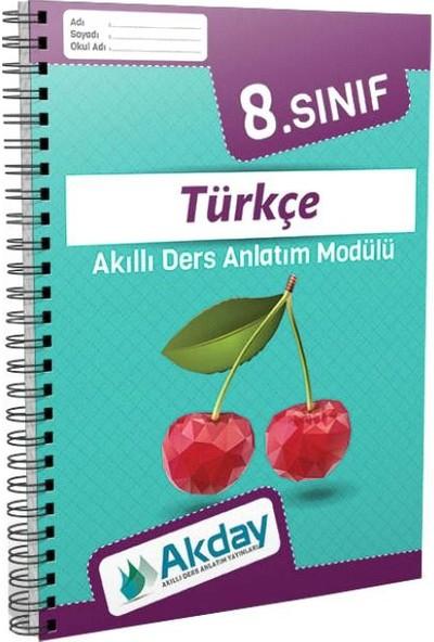 Akday 8.Sınıf Türkçe Akıllı Ders Anlatım Modülü