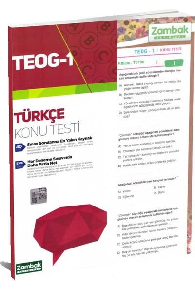 8.Sınıf Teog-1 Türkçe Konu Testleri