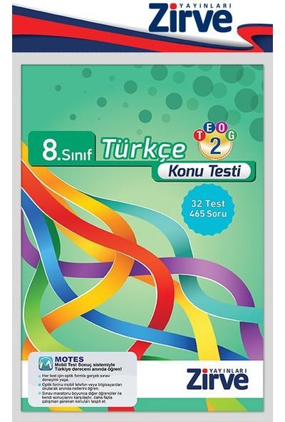 8. Sınıf Türkçe Konu Testi Teog-2