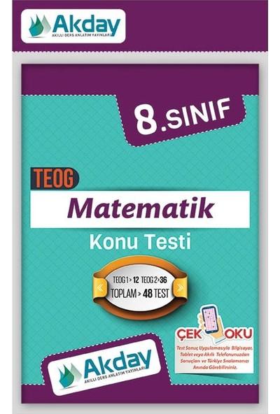 Akday 8.Sınıf Teog Sınavlarına Hazırlık Matematik Konu Testi