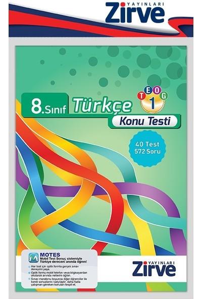 8. Sınıf Türkçe Konu Testi Teog-1
