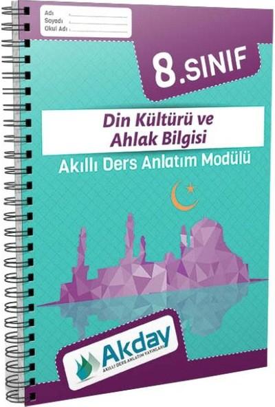 Akday 8.Sınıf Din Kültürü Ve Ahlak Bilgisi Akıllı Ders Anlatım Modülü